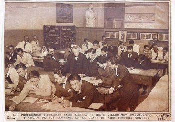 Seminario de discusión: Entre el arte y la técnica: René Villeminot y la arquitectura beaux-arts en la Argentina (1878-1928)